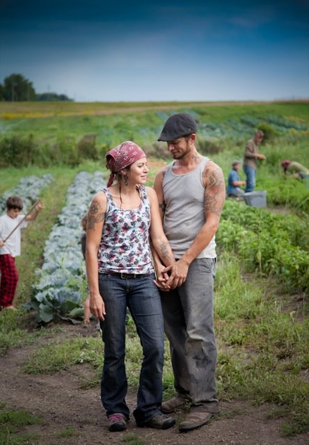 Malena Handeen and Mike Jacobs of Easy Bean Farm. Pictures from Easy Bean Farm.