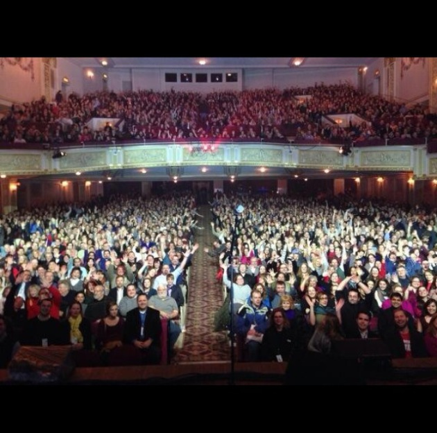 The State Theatre audience. Photo by Alton Brown.