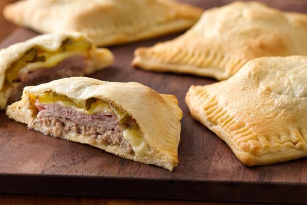 Cuban-Style Sandwich Pockets, a finalist in the Pillsbury Bake-Off
