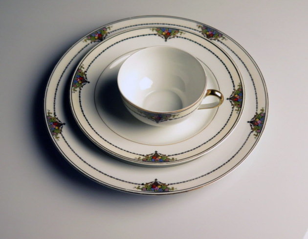 Noritake Gotham Gold china