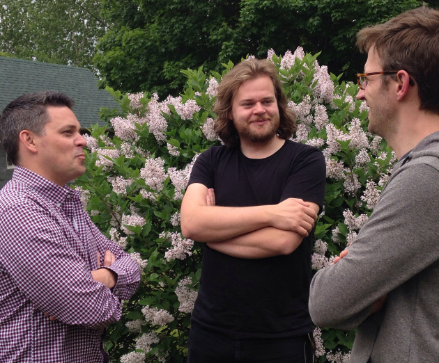 Gavin Kaysen, Magnus Nilsson and Paul Berglund.
