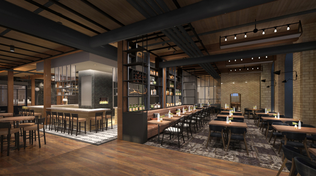 Architectural rendering of Tullibee, to open in the fall/ Provided