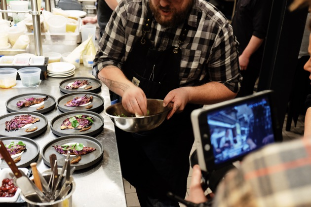 Erick Harcey Plates A Course For His Chefs Table At Upton 43 Provided P O