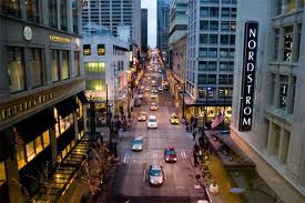 Nordstrom's flagship store in downtown Seattle