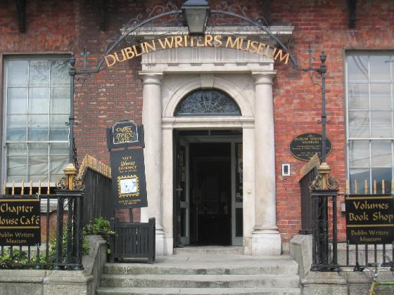 Not the model for the American museum, but the inspiration: The Dublin Writers Museum on Parnell Square.
