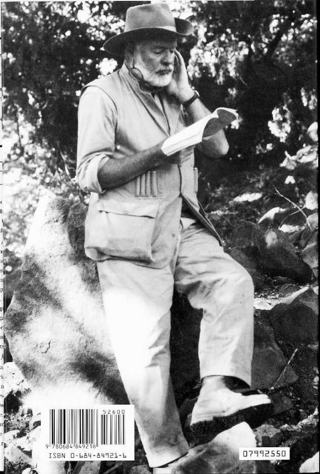 Ernest Hemingway peruses the list of the top 100 American Novels 1891-1991 and thinks he should have been better represented.