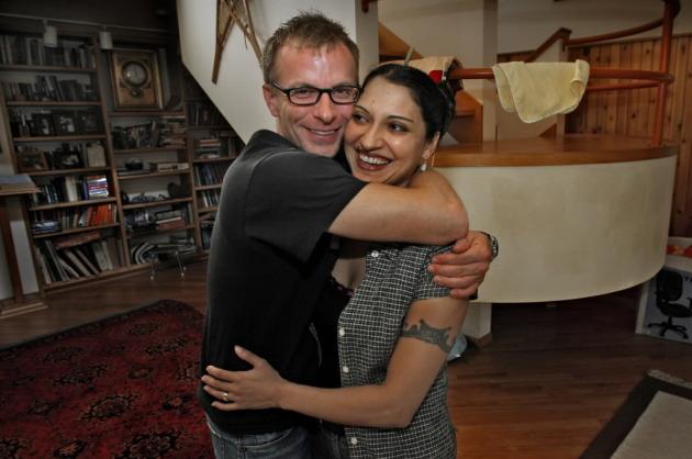 David Treuer with his wife, Gretchen. Star Tribune file photo by Jim Gehrz