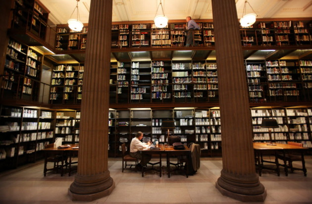 The James J. Hill Library, St. Paul. Star Tribune file photo by Renee Jones Schneider