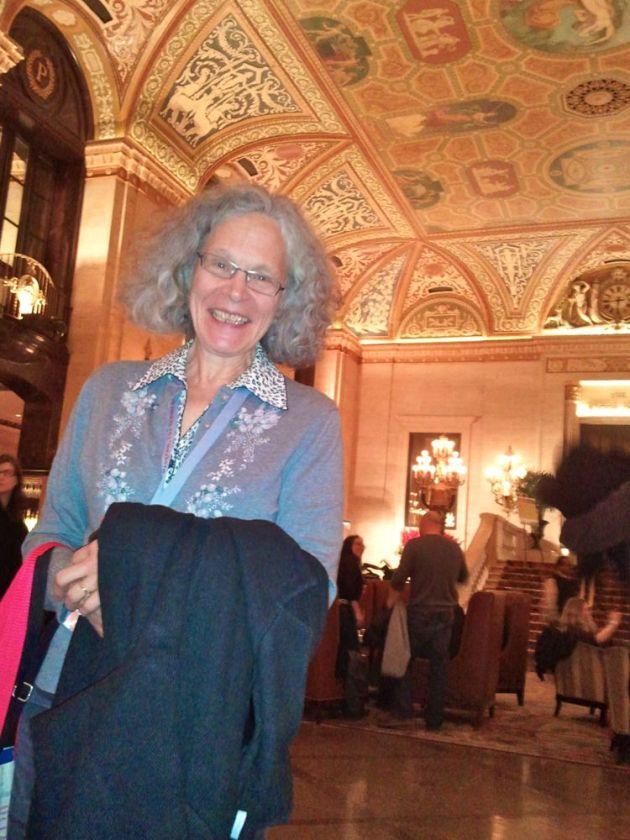 Donna Trump, instructor at the Loft Literary Center. Photo by Heid Erdrich.