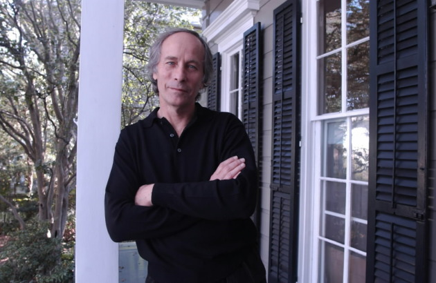 Richard Ford, at his house in New Orleans in 2002. Photo by David Rae Morris.