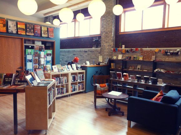Boneshaker Books. Photo by Claire Lindsay-McGinn