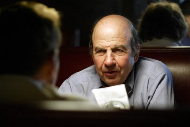 Calvin Trillin. Staff photo by Joel Koyama.