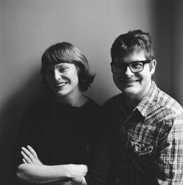 Colin Meloy and Carson Ellis.