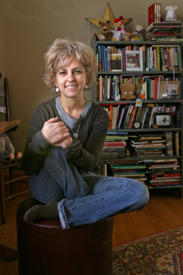 Author Kate DiCamillo.