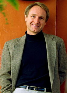 "Dan Brown, author of ""The DaVinci Code."""