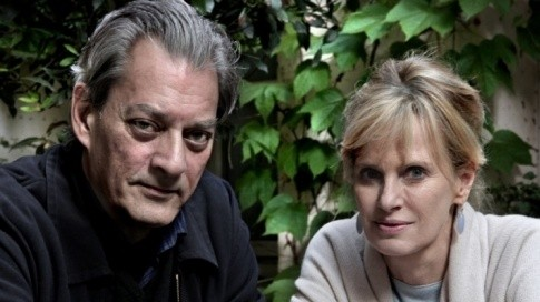 Literary power couple Paul Auster and Siri Hustvedt