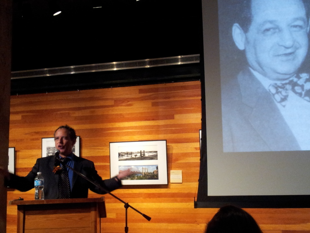 Neal Karlen at Mill City Museum. Photo by Fawn Bernhardt-Norvell.