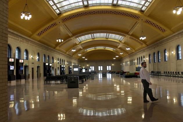 Union Depot, St. Paul. Star Tribune photo by Elizabeth Flores.