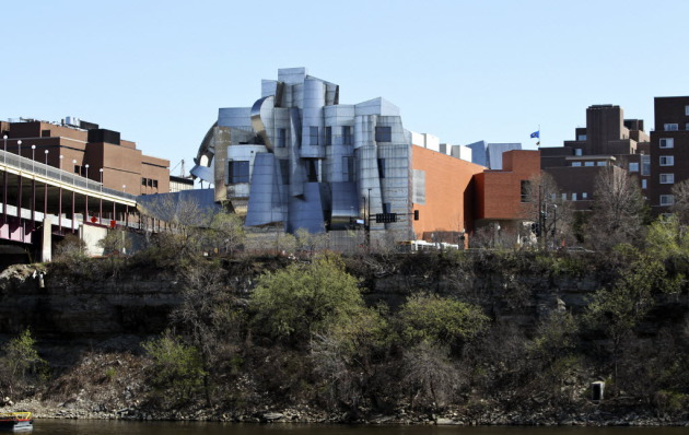 The Weisman Art Museum. Photo by David Joles.
