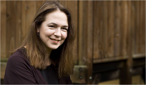 Lorrie Moore. New York Times photo by Mokoto Rich