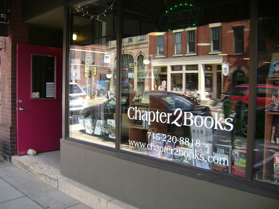 Chapter 2 Books in Hudson, Wis. Photo courtesy of the store's Website.