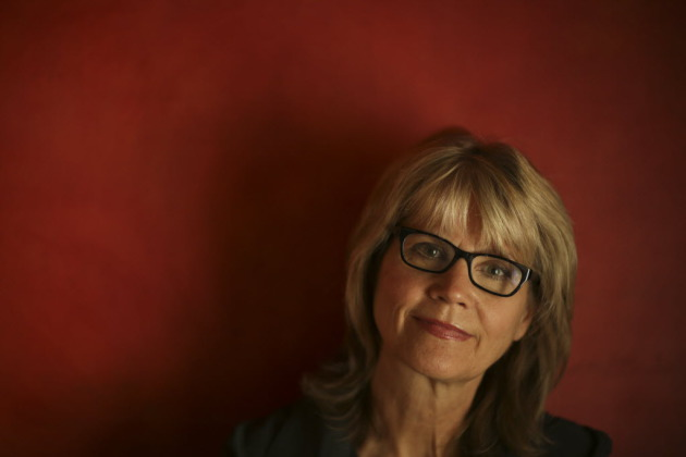 Lorna Landvik. Star Tribune photo by Jeff Wheeler