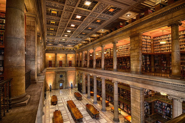 The James J. Hill Reference library in downtown St. Paul.