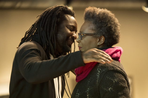 Marlon James and Claudia Rankine. Star Tribune staff photo by Aaron Lavinsky