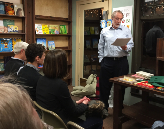 Charles Baxter at Micawber's Books