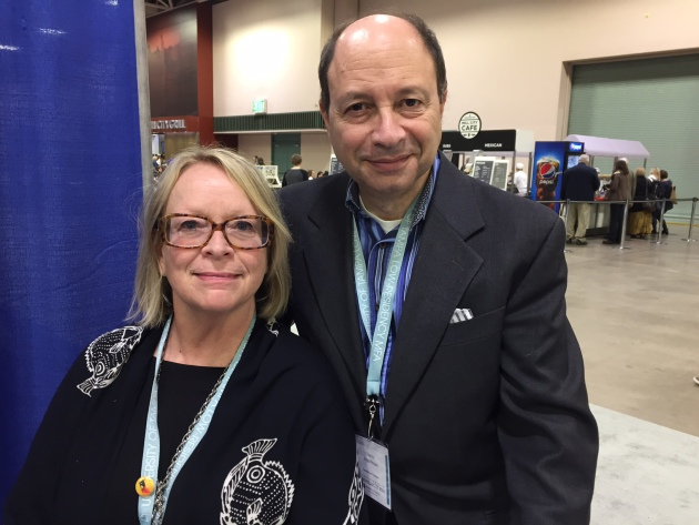 Jane Ciabattari and Harold Augenbraum