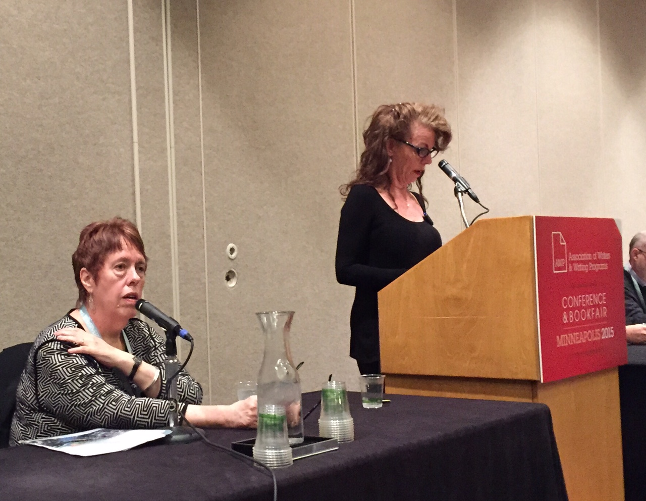 Fox Gordon and Debra Monroe discuss the tricky minefield of writing about others.