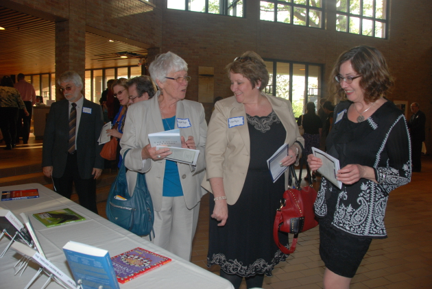 Hundreds attended the 25th Anniversary Midwest Book Awards at Luther Seminary in St. Paul on Wednesday night.