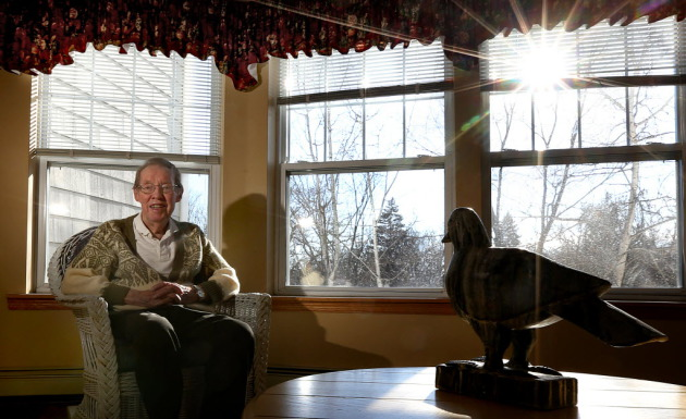 Richard Horberg. Star Tribune photo by Jim Gehrz