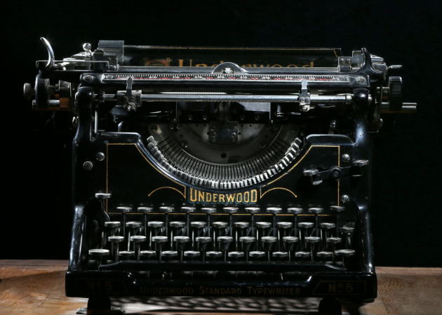 Probably none of the 12 writers selected for the Loft Mentor Series actually write on old-fashioned typewriters. But wouldn't it be cool if they did?