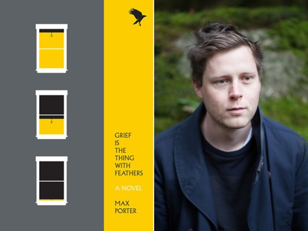 "Max Porter's novel ""Grief is the Thing With Feathers"" a finalist for John Leonard Prize"
