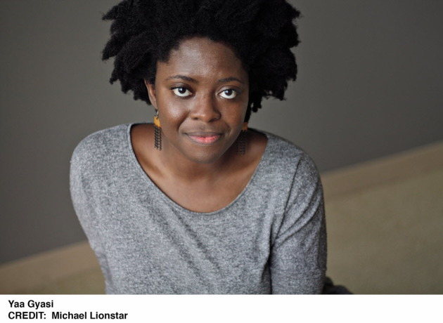 Yaa Gyasi. Photo by Michael Lionstar.