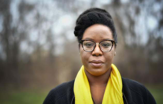 Lesley Nneka Arimah, photo by Star Tribune photographer Glen Stubbe