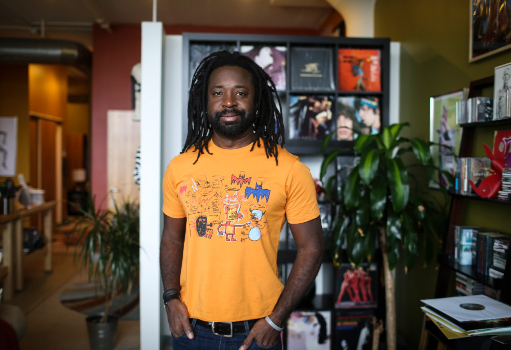 Marlon James. Star Tribune file photo.