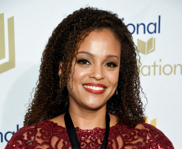 Jesmyn Ward at the National Book Awards in Nov. Photo by Evan Agostini, Associated Press