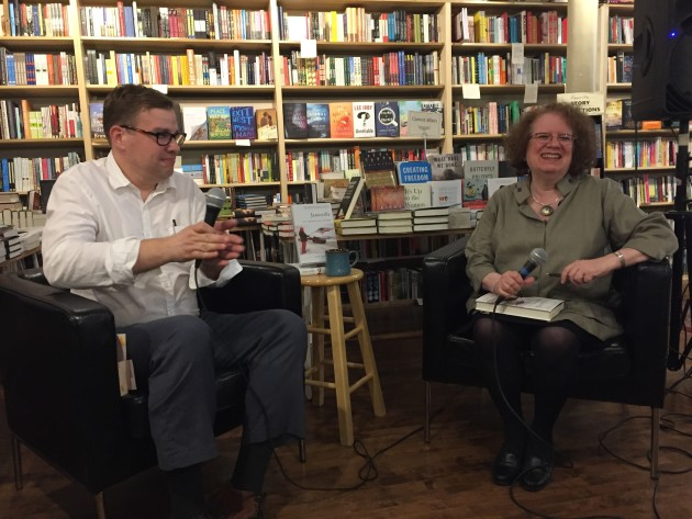 Amy Goldstein in conversation with Aaron Rosenberg at Common Good Books.
