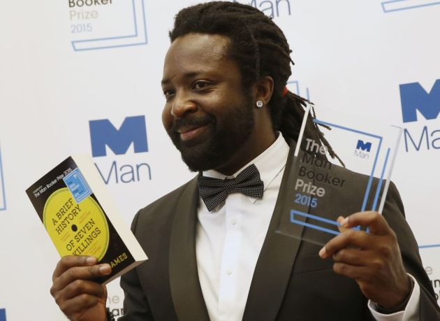 Marlon James. Associated Press photo by Alastair Grant