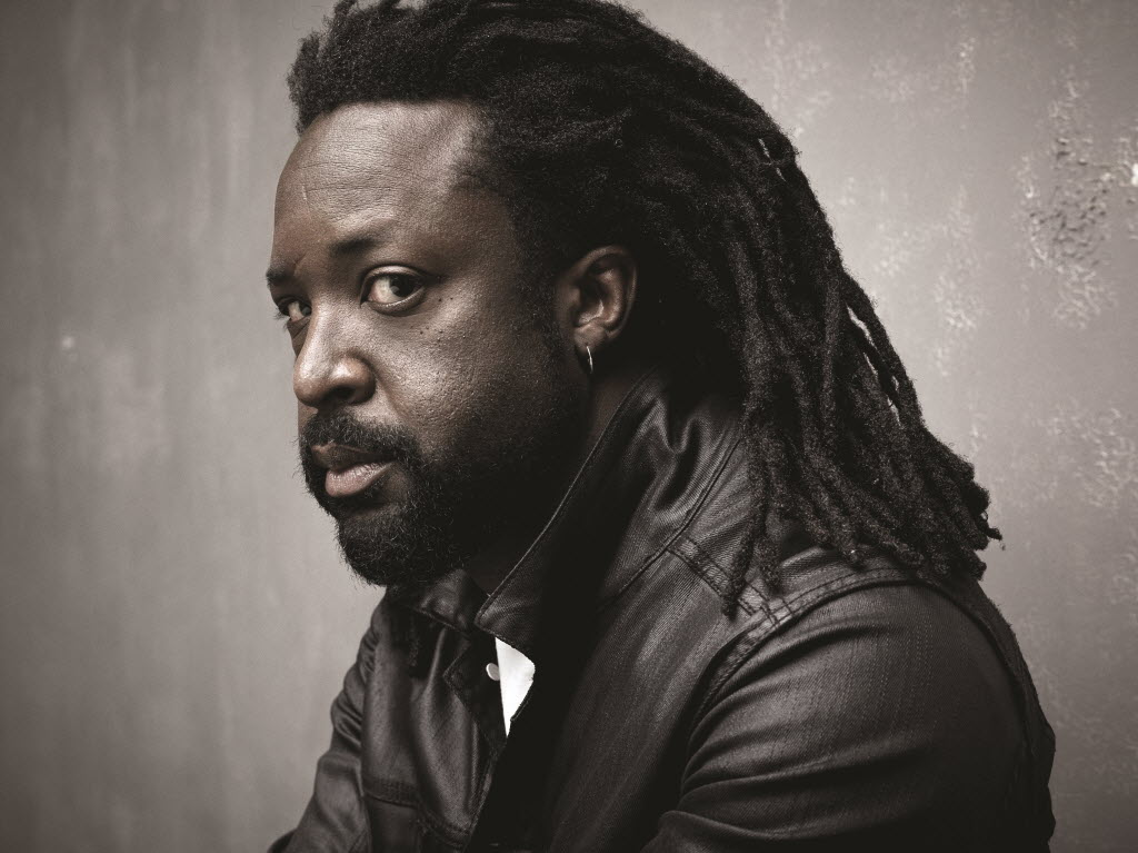 Marlon James. Photo by Mark Seliger