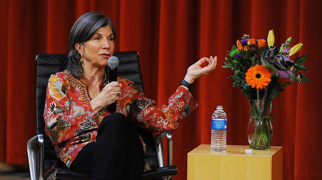 Anna Quindlen. Photo by Robert Goudy.