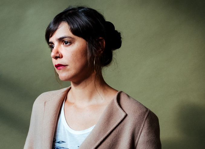 Valeria Luiselli, photo by Devin Yalkin, New York Times