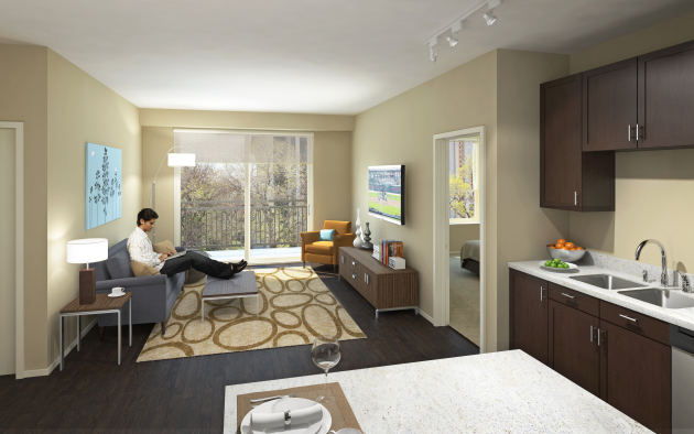 Just listed blog inside the whole foods residential project in minneapolis for The living room minneapolis mn