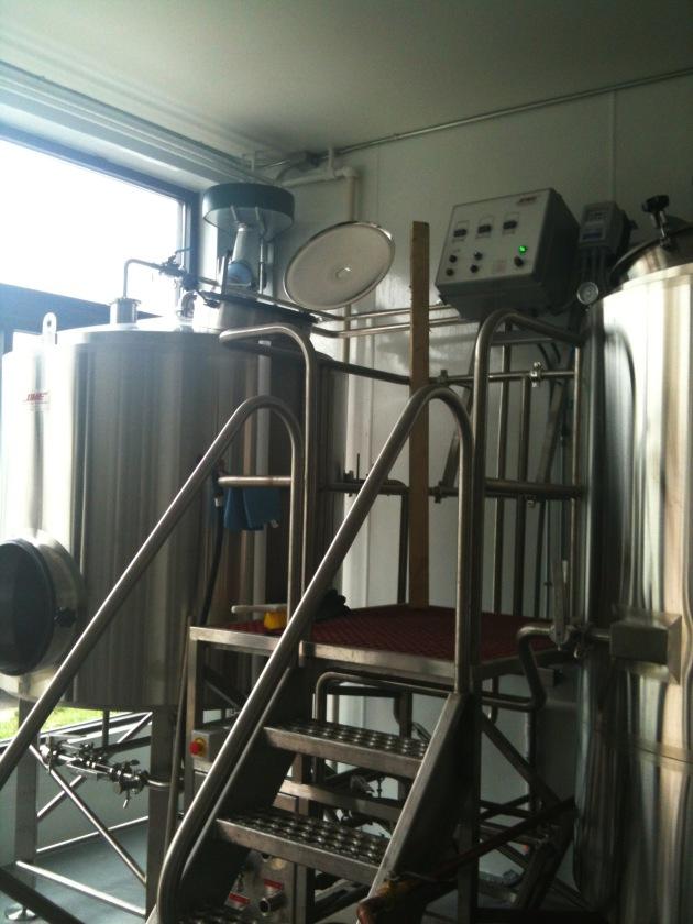 Jamie's brewery