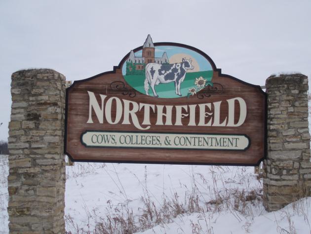 Home sweet home in Northfield. Photo by Mark Virgintino -- smarttravelinfo.com