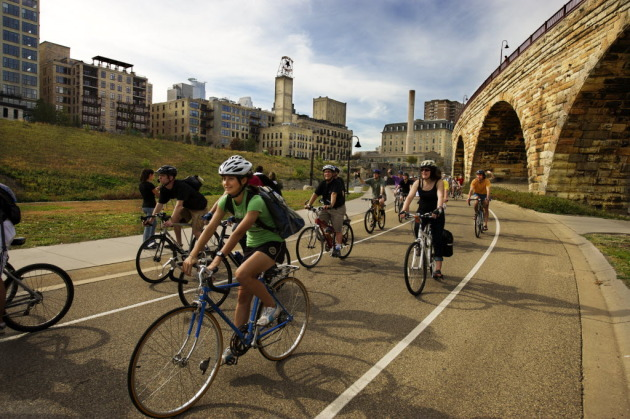 Bikes Minneapolis Star Tribune photo