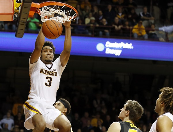 Gophers' Murphy Named Big Ten Player Of The Week