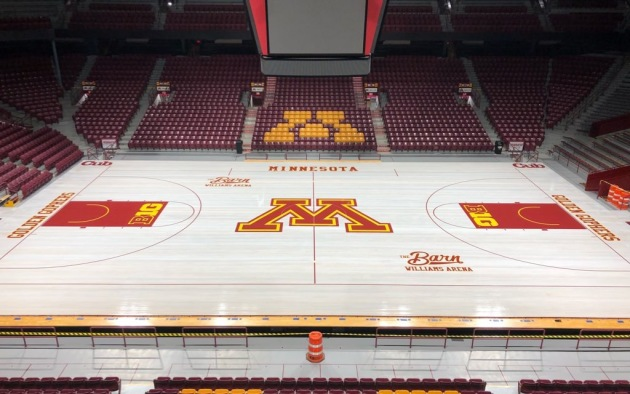 Williams Arena Court Gets A New Barn Look For 2018 19